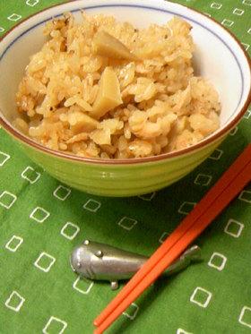 桜海老と筍の旬ご飯