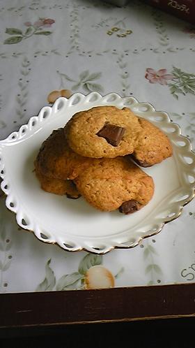 ロイホのチョコバナナクッキー?!