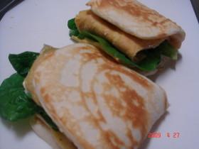 パンがない!!けど、サンドイッチ☆