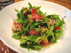タイ風すっぱ甘いサラダ(゚ε゚ )