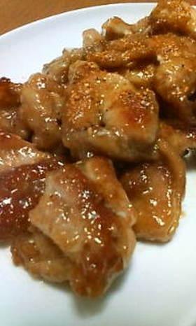 鶏肉のマヨポン酢炒め