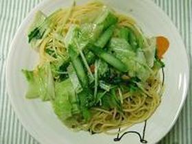 ♪春野菜のパスタ♪