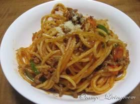 昔ながらのスパゲティ