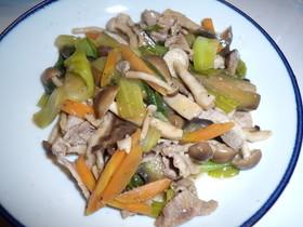 ダイエット野菜あんかけ中華風