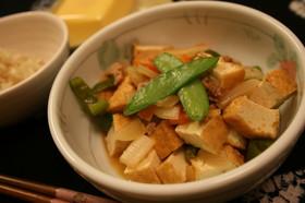 野菜たっぷり厚揚げマーボー