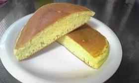 ケーキみたいなふわふわホットケーキ