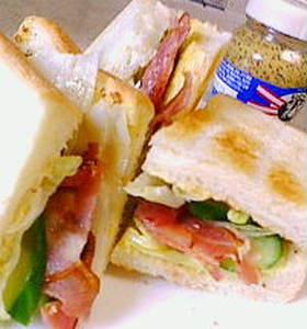 ホットサンドイッチ!