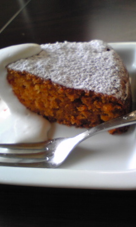 ハニーキャロットケーキ