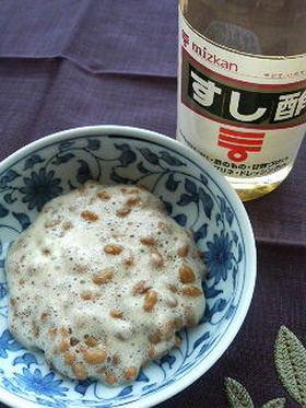 納豆にすし酢?!