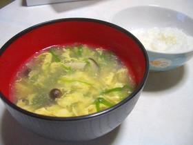 ☆にんにく菜の卵とじスープ☆