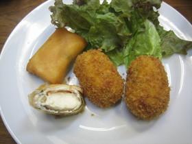 豆腐のミニ春巻き