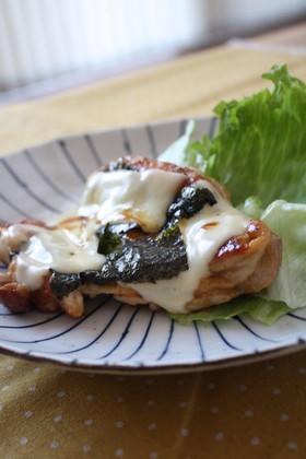 海苔チーズがとろとろの照り焼きチキン