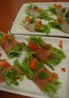 パーティー料理☆水菜の前菜
