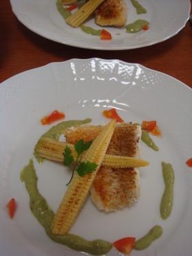 パーティー料理☆鯛の鱗焼き