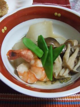 海老と野菜の煮物