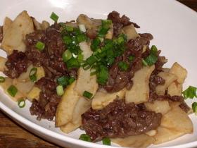 牛肉と筍のオイタレ炒め