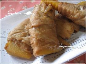 筍の豚肉巻き☆こっ照り煮 生姜・山椒風味