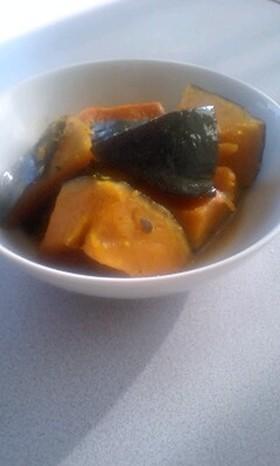 冷凍かぼちゃのバター煮