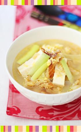 No.12 干しだらのスープ 韓国料理