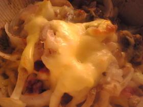 ぶなしめじのトマトマヨネーズチーズ焼き