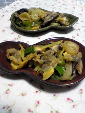 あさり・生姜の炒め煮