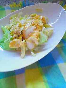 春キャベツと生姜の♪♬卵とじ♪♬