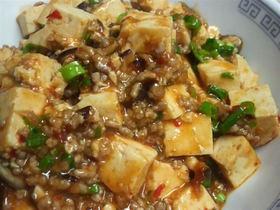 うちの麻婆豆腐