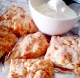 スコーン(ヨーグルト使用、チーズ入り)