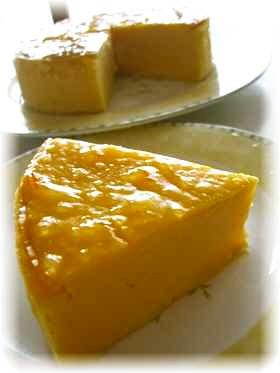 さつま芋とオレンジのケーキ