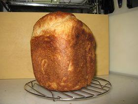 HBで♪ヨーグルトとジャムの食パン