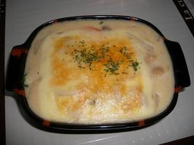 Wチーズグラタン