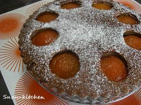 あんずのアーモンドケーキ