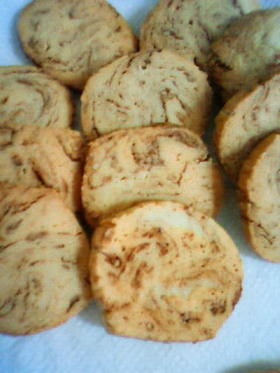 ほんのりチョコバナナクッキー