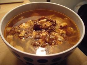 残り物中華DE中華麺