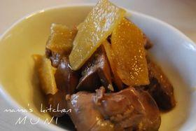 鶏の肝の生姜煮