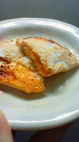 お弁当に、簡単ケチャマヨ目玉焼き