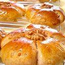 HB♪ハニーミルクくるみパン(全粒粉)♡