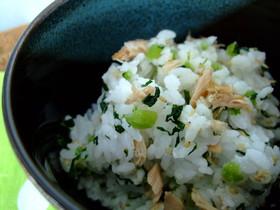 大根の葉で美味しく☆菜飯