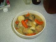 肉団子と野菜の味噌煮の写真