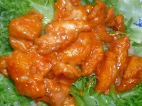 鶏胸肉のケチャマヨ炒め