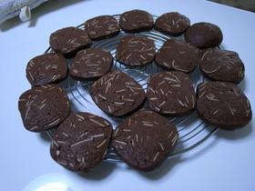 さくさく♪ココアアーモンドクッキー
