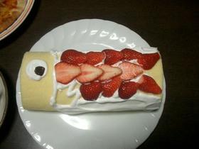 こどもの日に!こいのぼりケーキ♡
