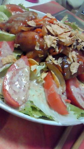 余った野菜で☆ボリューム満点サラダ