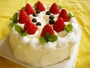 紅ほっぺ ケーキの写真