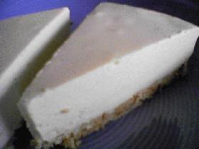 『フードプロセッサーで簡単・れあチーズケーキ』
