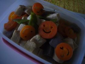 シンプルな高野豆腐の煮物(マクロビ)