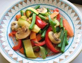 栄養満点★くりばり家のこりこり野菜炒め