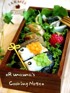鯉のぼりのお弁当♪