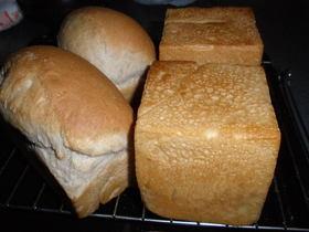 いちご酵母ミニ食パン