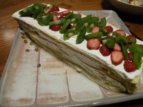 超簡単☆ロールdeショートケーキ